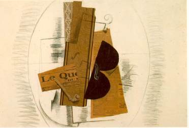 georges braque violin-and-pipe-le-quotidien-1913