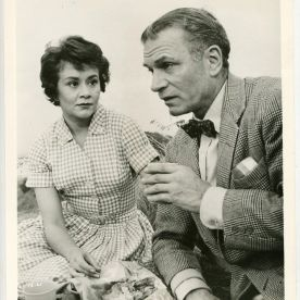 Laurence Olivier and Joan Plowright