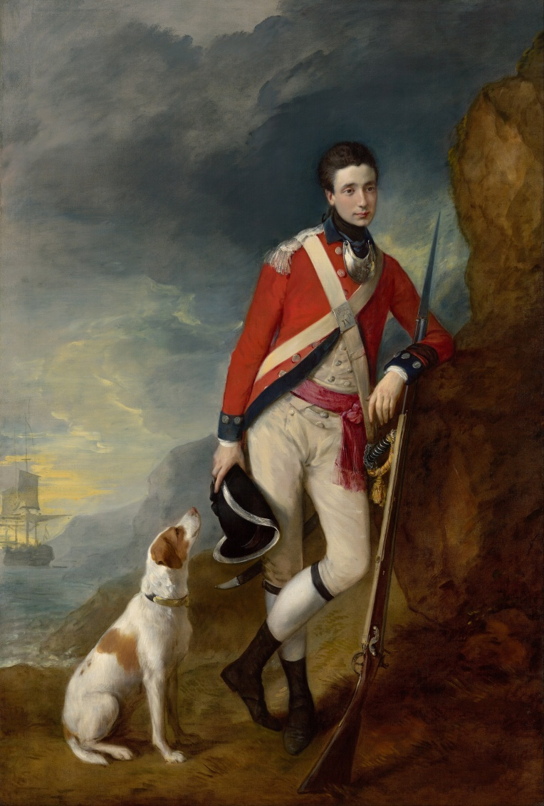 Thomas Gainsborough An officer of the 4th Regiment of Foot