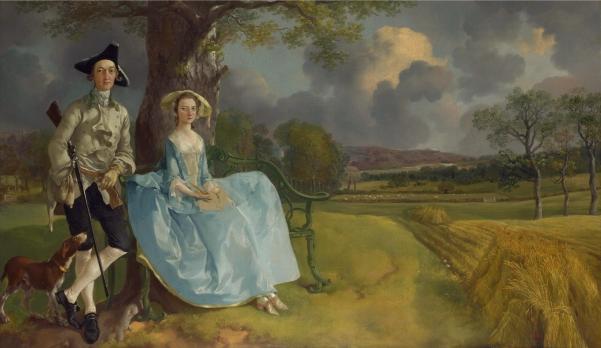 Thomas Gainsborough Mr and Mrs Andrews