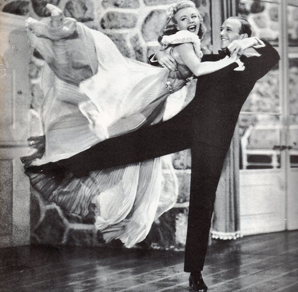 Ginger Rogers Fred Astaire Waldina