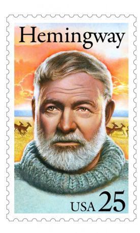 hemingway stamp usa