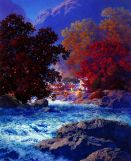 Swiftwater 1953 - Maxfield Parrish
