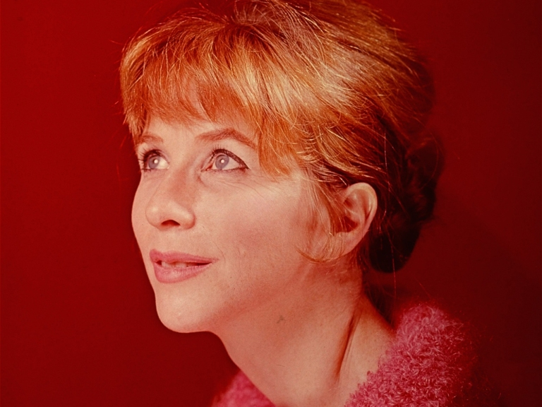 Actress Julie Harris is shown in this 1965 portrait. (AP Photo)