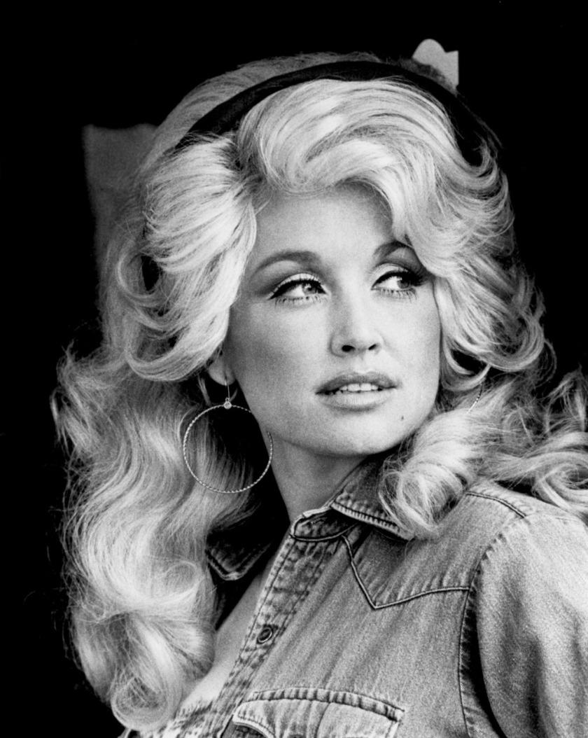 Dolly Parton in the 1970s Keine Weitergabe an Drittverwerter.