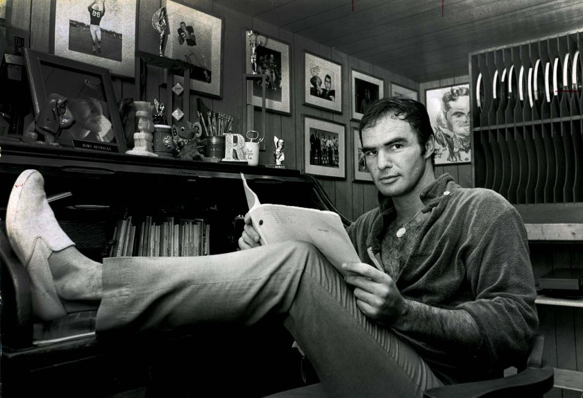 10/12/1967 - Burt Reynolds in his home. (Ursula Seemann / Palm Beach Post)