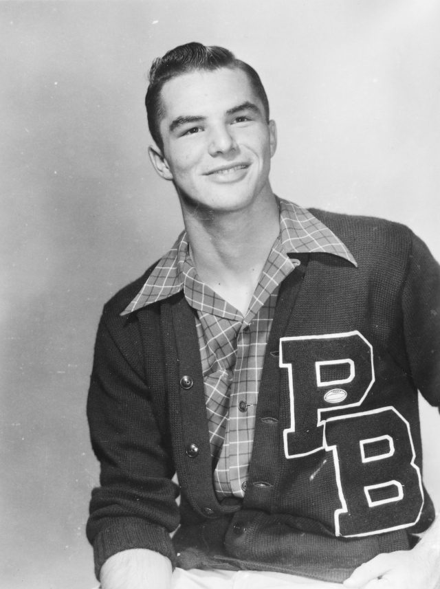 """Palm Beach High alum and actor Burt Reynolds recalled that """"The Hut is where you went."""" (Courtesy Historical Society of Palm Beach County)"""