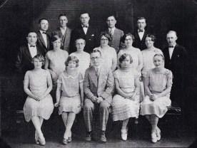 Waldina: Front row, far right. Alfred: Second row, far left.