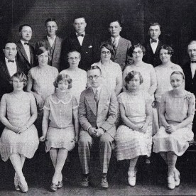 Waldina: Front row, far right. Alfred: Second row, far left.