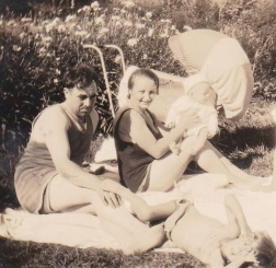 Alfred, Waldina, Aldo, & Waldie. 1934.