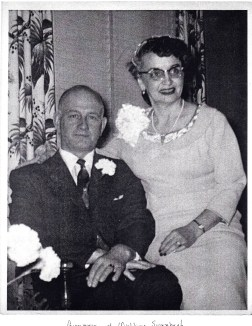 Alfred & Waldina. Wedding Day: February 23, 1957