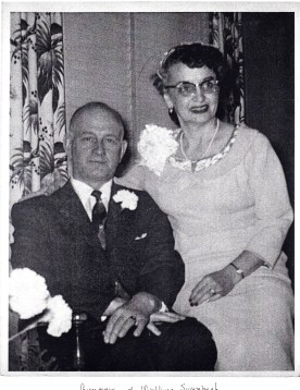 Alfred & Waldina. Wedding Day: February 23, 1957