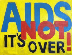aids is not over