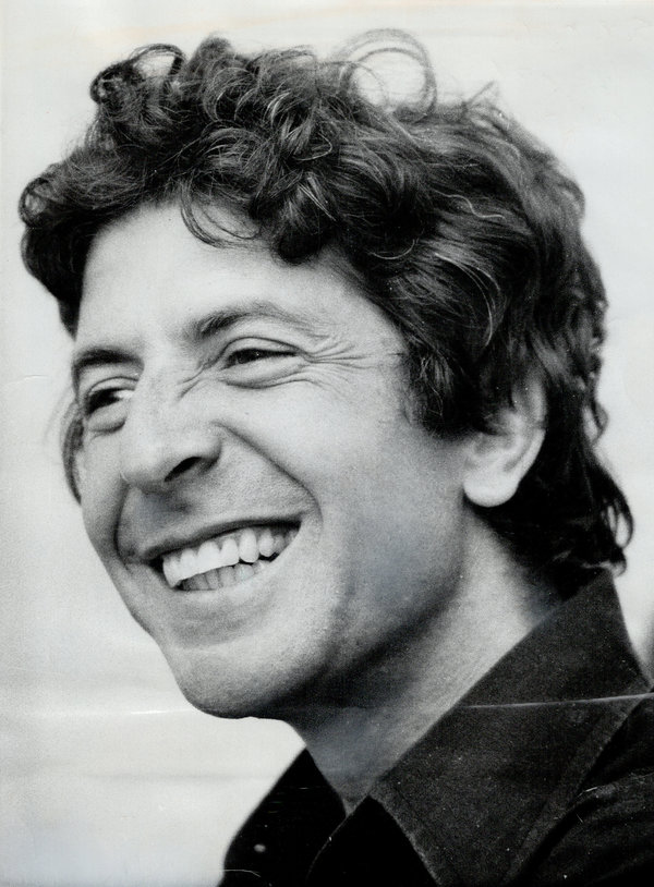 Happy 84th Birthday Leonard Cohen Waldina