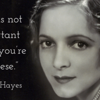 Helen Hayes - Words To Live By