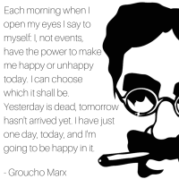 Groucho Marx - Words To Live By