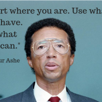 Arthur Ashe - Words To Live By