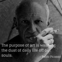 Pablo Picasso - Words To Live By