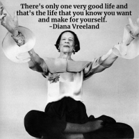 Diana Vreeland - Words To Live By