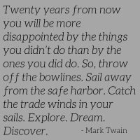Mark Twain - Words To Live By