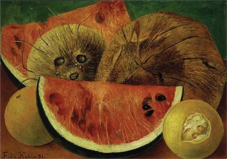 coconuts Frida Kahlo.