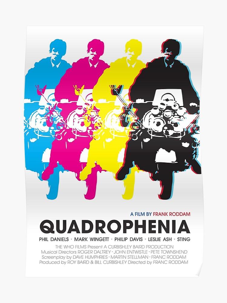 Quadrophenia Scooters Poster British Drama Film Photo Phil Daniels Old Picture