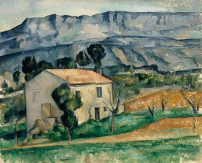 Paul Cézanne Maison devant la Sainte-Victoire près de Gardanne