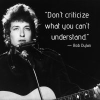 Bob Dylan - Words To Live By