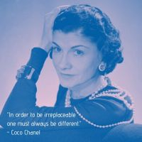 Coco Chanel - Words To Live By