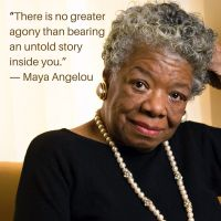Maya Angelou - Words To Live By
