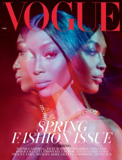 Naomi Campbell voogue 001