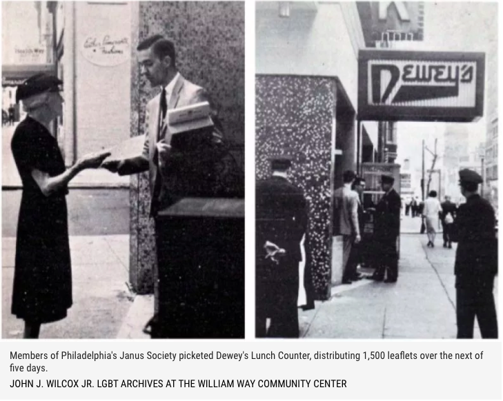 Dewey's Lunch Counter Sit-In