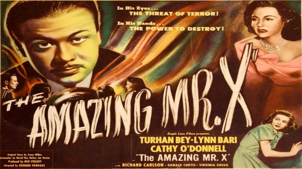 The Amazing Mr.X  (1948)